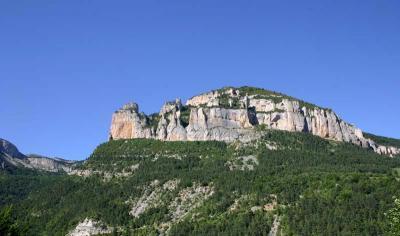Vercors : Le rocher de Combeau