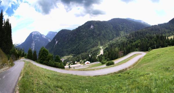 Dans les Alpes …