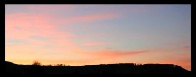 Couché de soleil sur Saverne