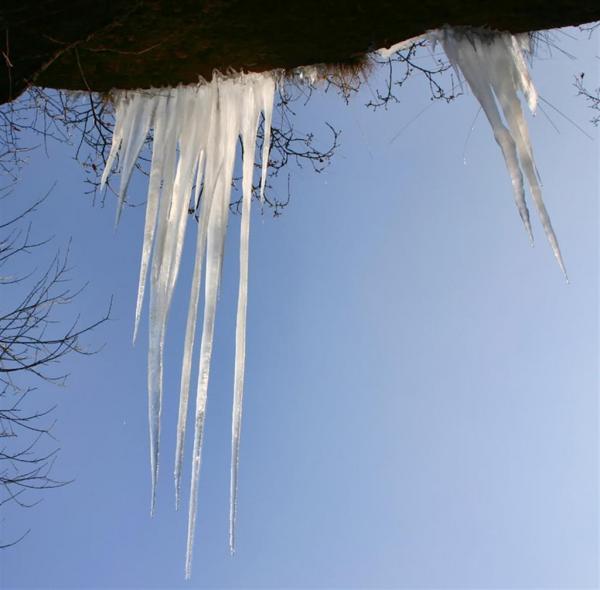 Stalactite de glace