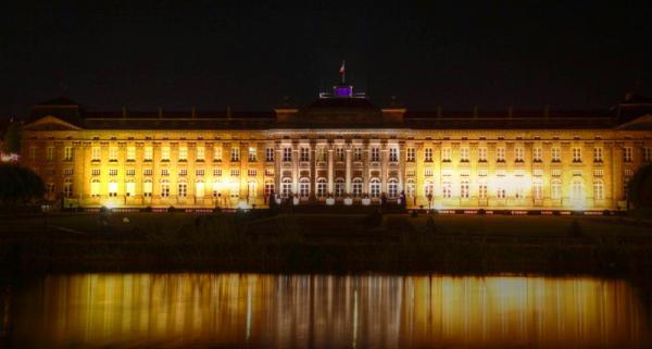 Château des Rohan de nuit