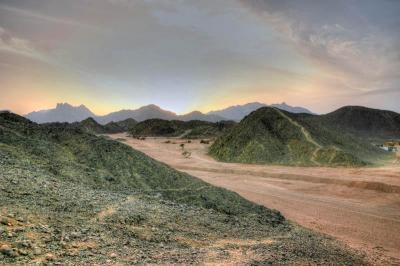 Desert d'Egypte en HDR