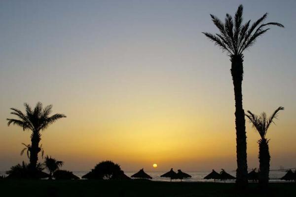 Sur la Plage d'Agadir (Maroc)