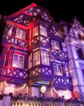 Eclairage de noël à Saverne (Alsace)