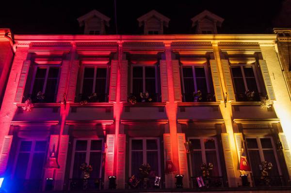 Noël à Saverne, Illuminations dans la ville