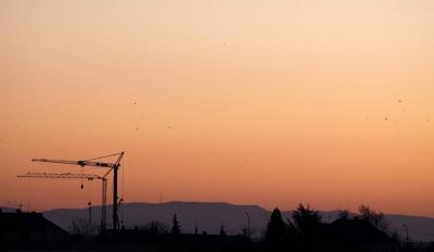 Levé de soleil sur Saverne