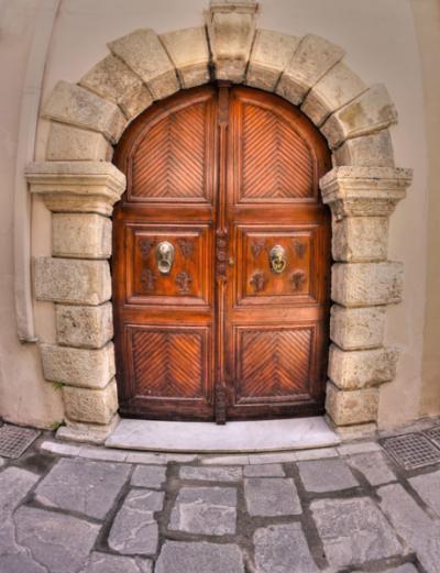Une porte à Réthymnon