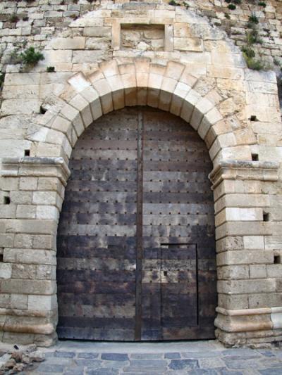 Porte de la citadelle de Rethymnon