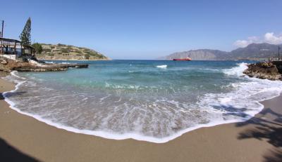 Sur une plage …
