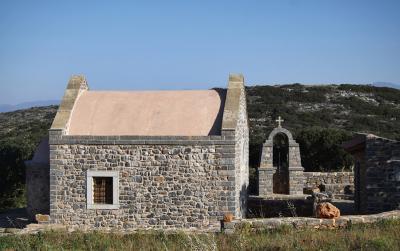 Chapelle en granit (Crète)