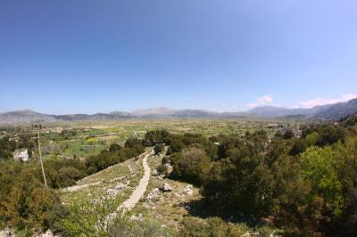 Le plateau du Lassithi … (Crète)