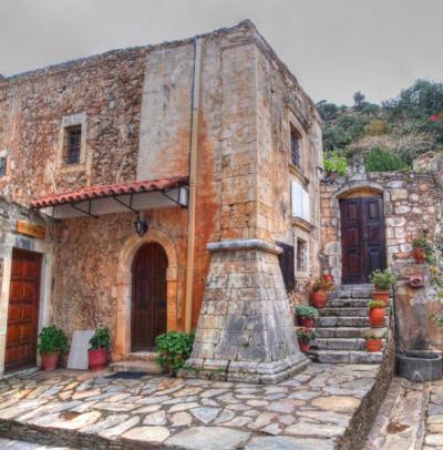 Un Monastère en Crète