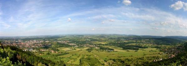 Vu panoramique sur Saverne
